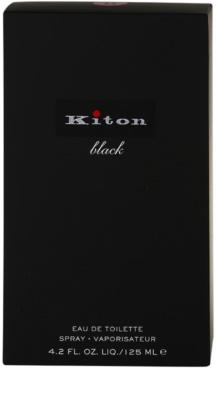 Kiton Kiton Black Eau de Toilette pentru barbati 4