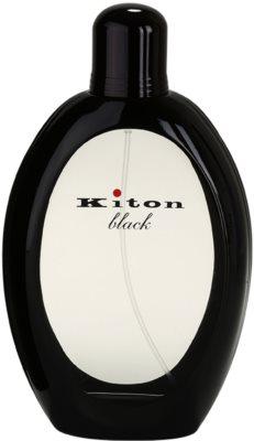 Kiton Kiton Black Eau de Toilette pentru barbati 2