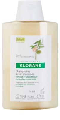 Klorane Amande szampon do zwiększenia objętości