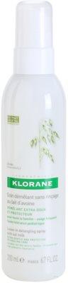 Klorane Avoine spray bez spłukiwania dla łatwego rozczesywania włosów