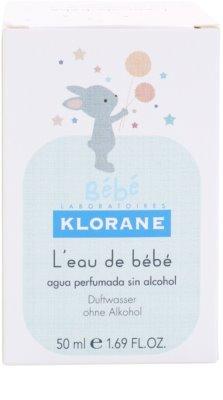 Klorane Bébé тоалетна вода за деца 4