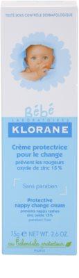 Klorane Bébé gyulladás elleni krém 3