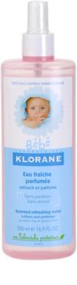Klorane Bébé освежаваща вода в спрей за деца
