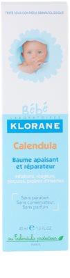 Klorane Bébé Calendula balsam łagodzący bez parabenów 3