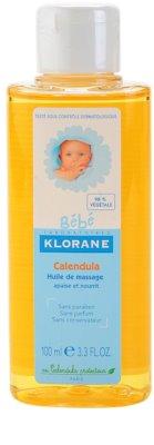 Klorane Bébé Calendula masážny olej pre deti