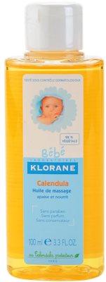 Klorane Bébé Calendula ulei de masaj pentru copii