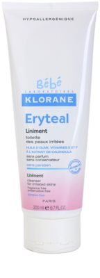 Klorane Bébé Erytéal čistiaca masť pre podráždenú pokožku