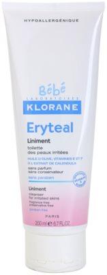 Klorane Bébé Erytéal čisticí mast pro podrážděnou pokožku