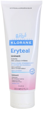 Klorane Bébé Erytéal очищуюча мазь для подразненої шкіри