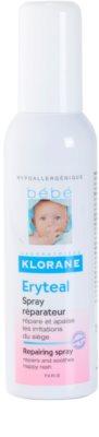 Klorane Bébé Erytéal spray  a bőr irritációja ellen