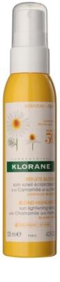 Klorane Camomille tratament leave-in iluminare pentru părul blond