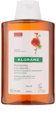 Klorane Capucine champô contra caspa seca