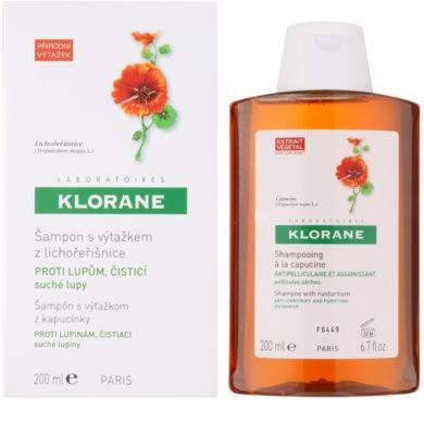 Klorane Capucine champú contra la caspa seca 1