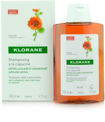 Klorane Capucine champú contra la caspa seca 4