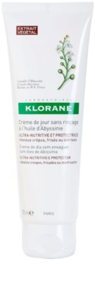 Klorane Crambe dAbyssinie crema de protectie hranitoare pentru parul cret