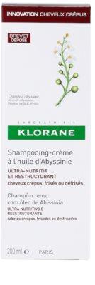 Klorane Crambe dAbyssinie obnovitveni šampon za valovite lase 3