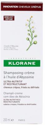 Klorane Crambe dAbyssinie champú reparador para cabello ondulado 3