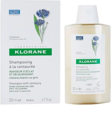 Klorane Centaurée sampon szőke és ősz hajra 1