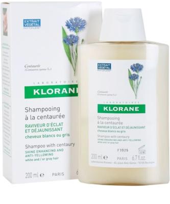 Klorane Centaurée sampon szőke és ősz hajra 2