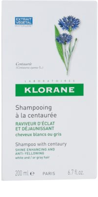 Klorane Centaurée sampon szőke és ősz hajra 3