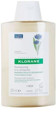 Klorane Centaurée sampon pentru părul blond şi gri
