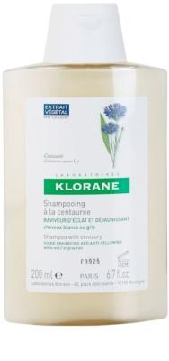 Klorane Centaurée sampon szőke és ősz hajra