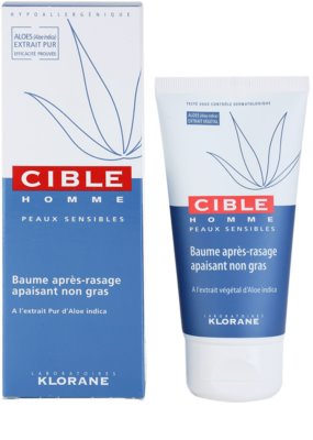 Klorane Cible Homme balsam aftershave 2