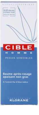 Klorane Cible Homme balsam aftershave 3
