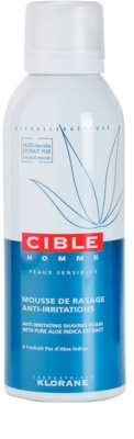 Klorane Cible Homme піна для гоління