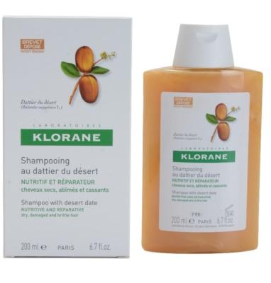 Klorane Dattier шампоан  за крехка и стресирана коса 1