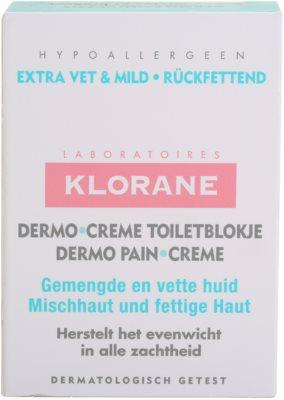 Klorane Dermo Pain Creme jabón para pieles mixtas y grasas 3