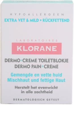 Klorane Dermo Pain Creme сапун  за комбинирана към мазна кожа 3
