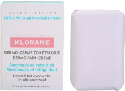 Klorane Dermo Pain Creme milo za mešano do mastno kožo