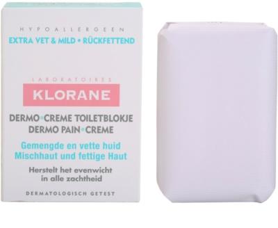 Klorane Dermo Pain Creme сапун  за комбинирана към мазна кожа