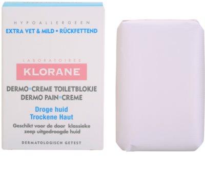Klorane Dermo Pain Creme sabonete para pele seca
