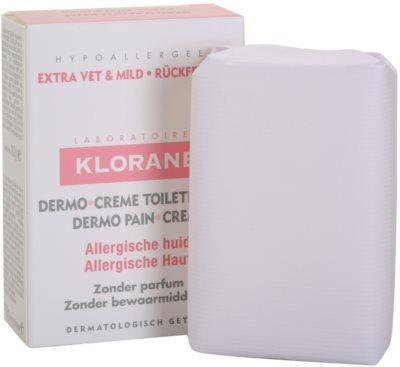 Klorane Dermo Pain Creme mýdlo pro alergickou pokožku 1