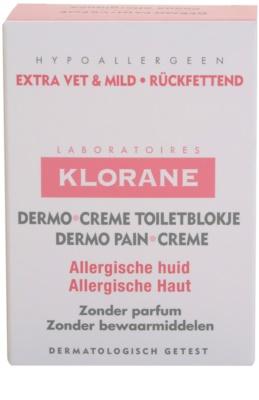 Klorane Dermo Pain Creme mýdlo pro alergickou pokožku 3