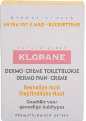 Klorane Dermo Pain Creme jabón para dejar la piel suave y lisa 3