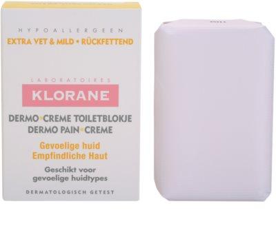 Klorane Dermo Pain Creme jabón para dejar la piel suave y lisa