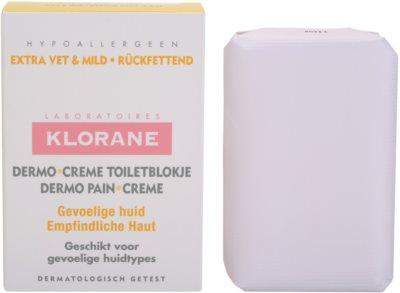 Klorane Dermo Pain Creme mydlo pre jemnú a hladkú pokožku