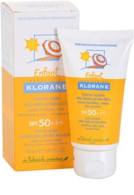 Klorane Enfant krema za sončenje za otroke SPF 50+ 1