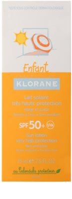 Klorane Enfant krema za sončenje za otroke SPF 50+ 5
