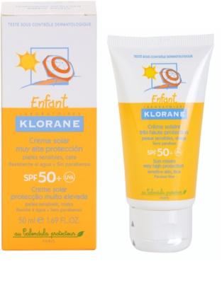 Klorane Enfant krema za sončenje za otroke SPF 50+ 2