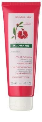 Klorane Grenade balsam  (nu necesita clatire) pentru par vopsit