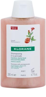 Klorane Grenade champô para cabelo pintado