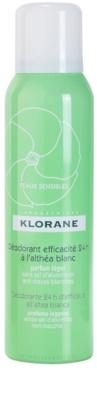 Klorane Hygiene et Soins du Corps deodorant ve spreji