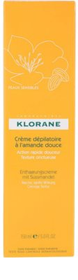 Klorane Hygiene et Soins du Corps depilační krém 3