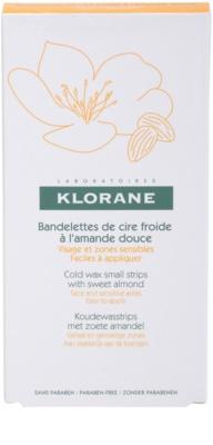 Klorane Hygiene et Soins du Corps szőrtelenítő gyantacsík az arcra és az érzékeny részekre 3