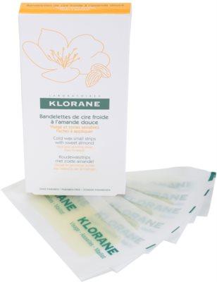 Klorane Hygiene et Soins du Corps szőrtelenítő gyantacsík az arcra és az érzékeny részekre