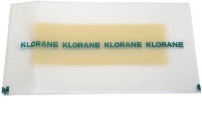 Klorane Hygiene et Soins du Corps voskové depilační pásky na nohy 2